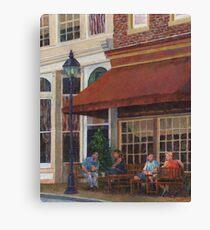 Corner Restaurant Canvas Print