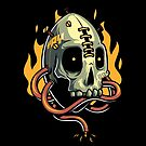 Skull Fire by Angga Tantama