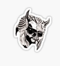 Ghost - Nameless Ghoul Mask Sticker