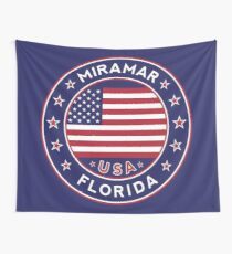 Miramar, Florida Wall Tapestry
