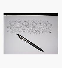 Jest Sketch Photographic Print