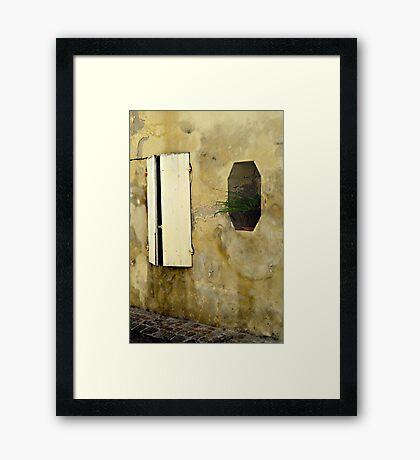 St Emilion Framed Print