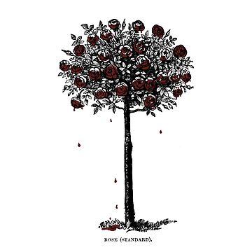 Die Rosen rot malen - Alice im Wunderland von justonedesign