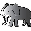 Netter Elefant von clelkin