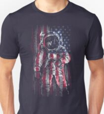 Astronaut Flag T-Shirt