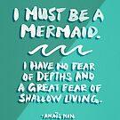 Ich muss eine Meerjungfrau sein - Emerald Palette von Cat Coquillette