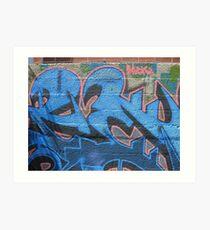 Jest Graffiti Art Print