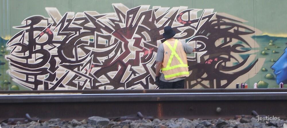 Jest Graff Artist by jesticles
