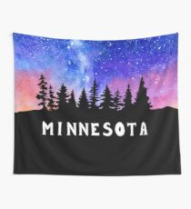 Cosmic Minnesota Wall Tapestry