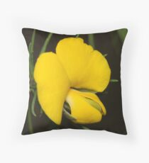 Large Wedge Pea Throw Pillow