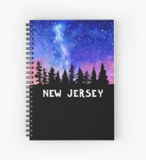 Cosmic New Jersey Spiral Notebook