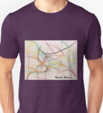 Roller Coaster Abstract Unisex T-Shirt