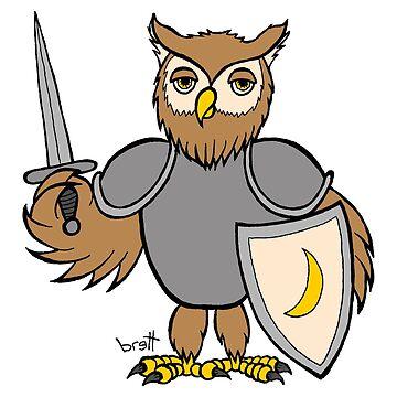 Knight Owl by bgilbert