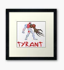 Resident Evil - Tyrant Framed Print