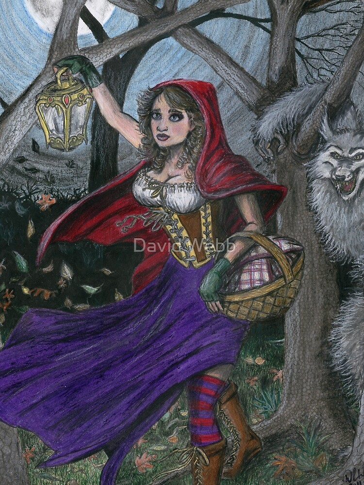 Little Red and the Big Bad Wolf by GraphiteWeb