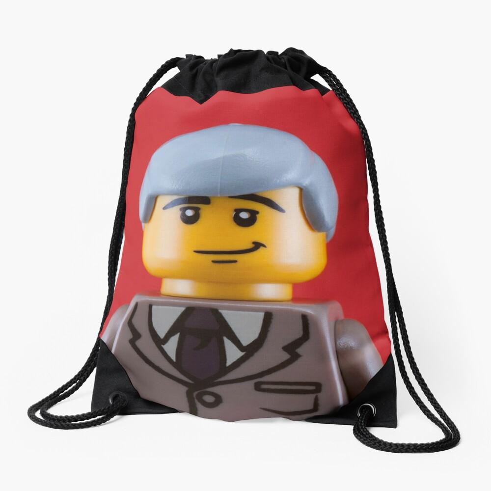 Gilbert Portrait Drawstring Bag