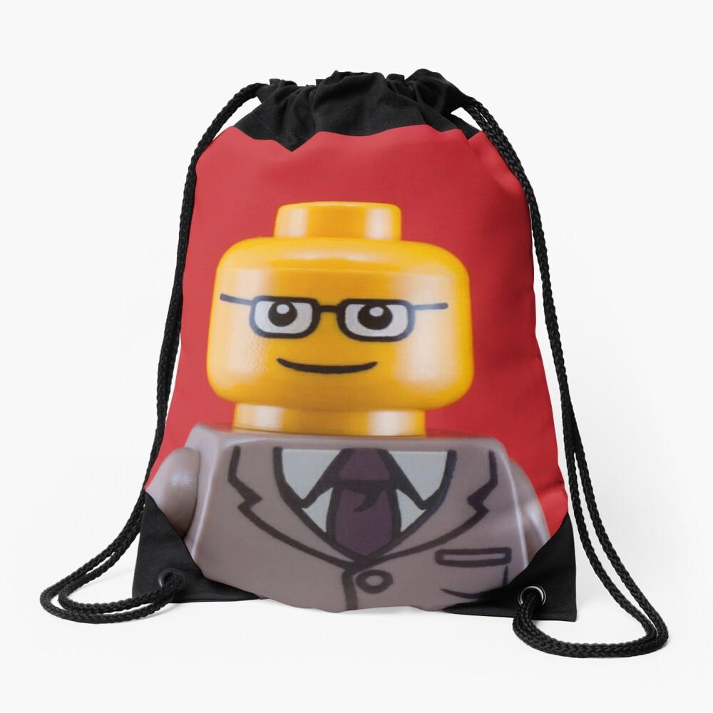 George Portrait Drawstring Bag