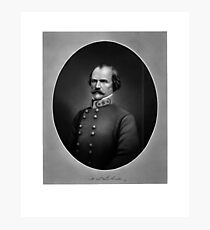 Confederate General Albert Sidney Johnston Photographic Print