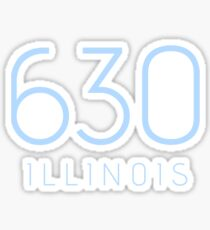 ILLINOIS 630 • COLUMBIA Sticker