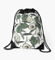 Ripe Avocado  Drawstring Bag