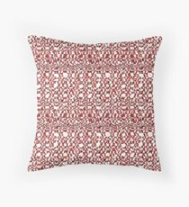 Checker Melt Pattern Throw Pillow