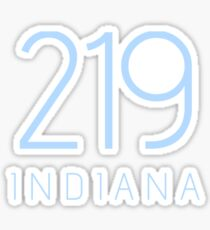 INDIANA 219 • KOLUMBIEN BLAU Sticker