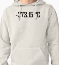-273.15 Degrees Celsius- Absolute Zero Pullover Hoodie