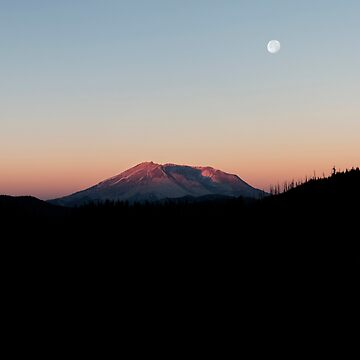 Mount St. Helens At Sunrise. by alex4444