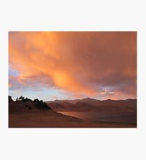 Stormy and Cloudy Sunset View Photographic Print