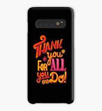 Thank you! Hülle & Klebefolie für Samsung Galaxy