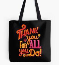 Thank you! Tote Bag