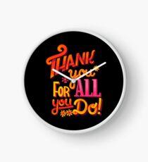 Thank you! Clock