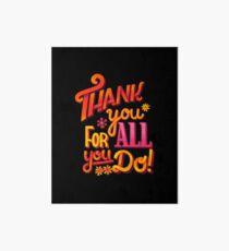 Thank you! Art Board