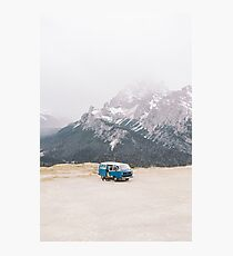 Life on the road - Dolomites Collection  Photographic Print