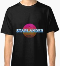 STARLANDER - Metallic Logo with sun Classic T-Shirt