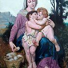 Saint Family after W. Bouguereau von Hidemi Tada