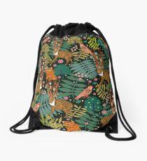 Deer Forest Drawstring Bag