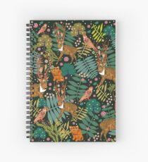 Deer Forest Spiral Notebook