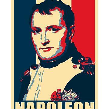 Napoleon Propaganda Poster Art by idaspark