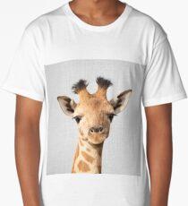 Baby Giraffe - Colorful Long T-Shirt