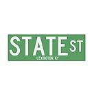 UK State Street Sign by icarlyk95