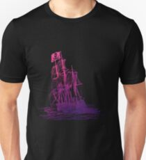 Ghost Ship Pink Unisex T-Shirt