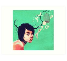 the daydream Art Print
