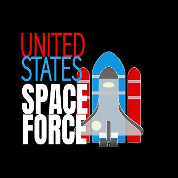 United States Space Shuttle Force by LisaLiza