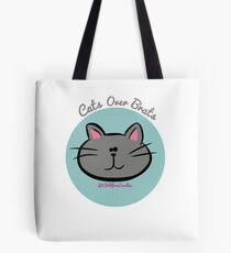 CATS OVER BRATS Tote Bag