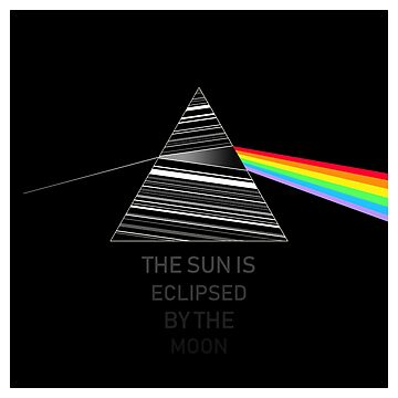 Pink Floyd Dark Side Of The Moon Eclipse by GetItGiftIt