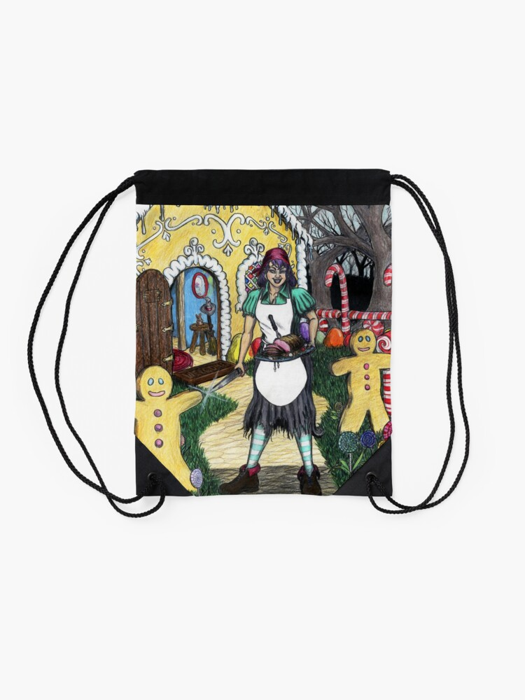 Alternate view of Just Desserts Drawstring Bag