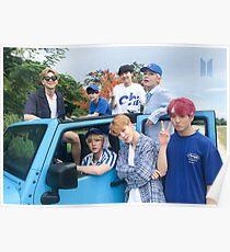 BTS Sommer 2018 (Gruppenplakat) Poster