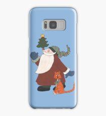 Juggling Santa Samsung Galaxy Case/Skin