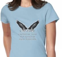 Castiel Gripped Me Tight Womens Fitted T-Shirt